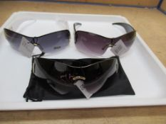 Approx x 130 Various Gucineri Designer Sunglasses with pouch and case