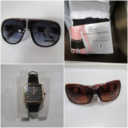 Designer Sunglasses, Shawls, Underwear and Watches