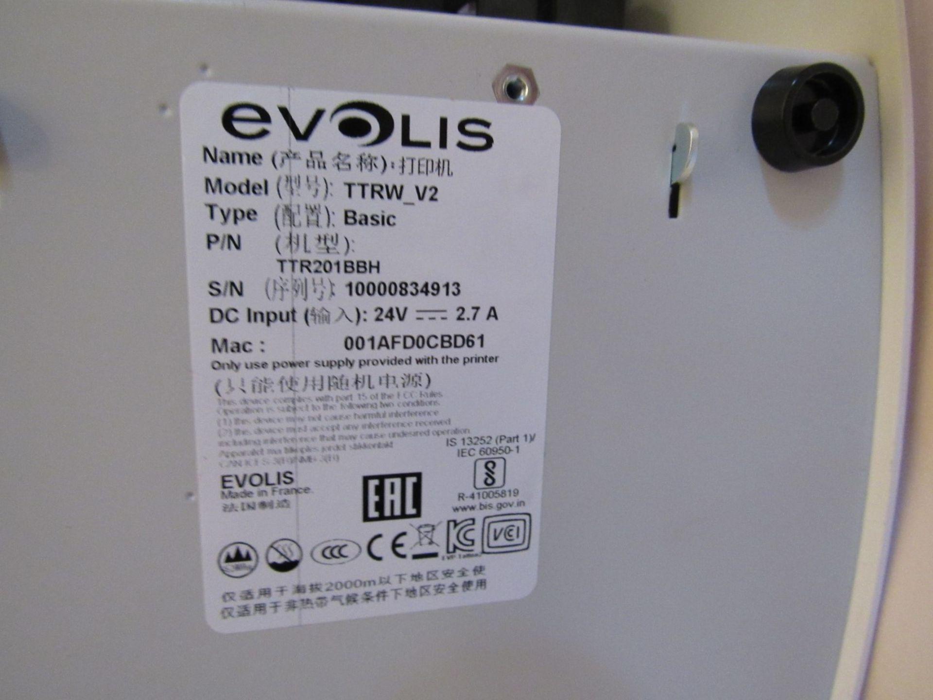Evolis TTRW_V2 rewriteable ID Card printer (Locati - Image 7 of 8