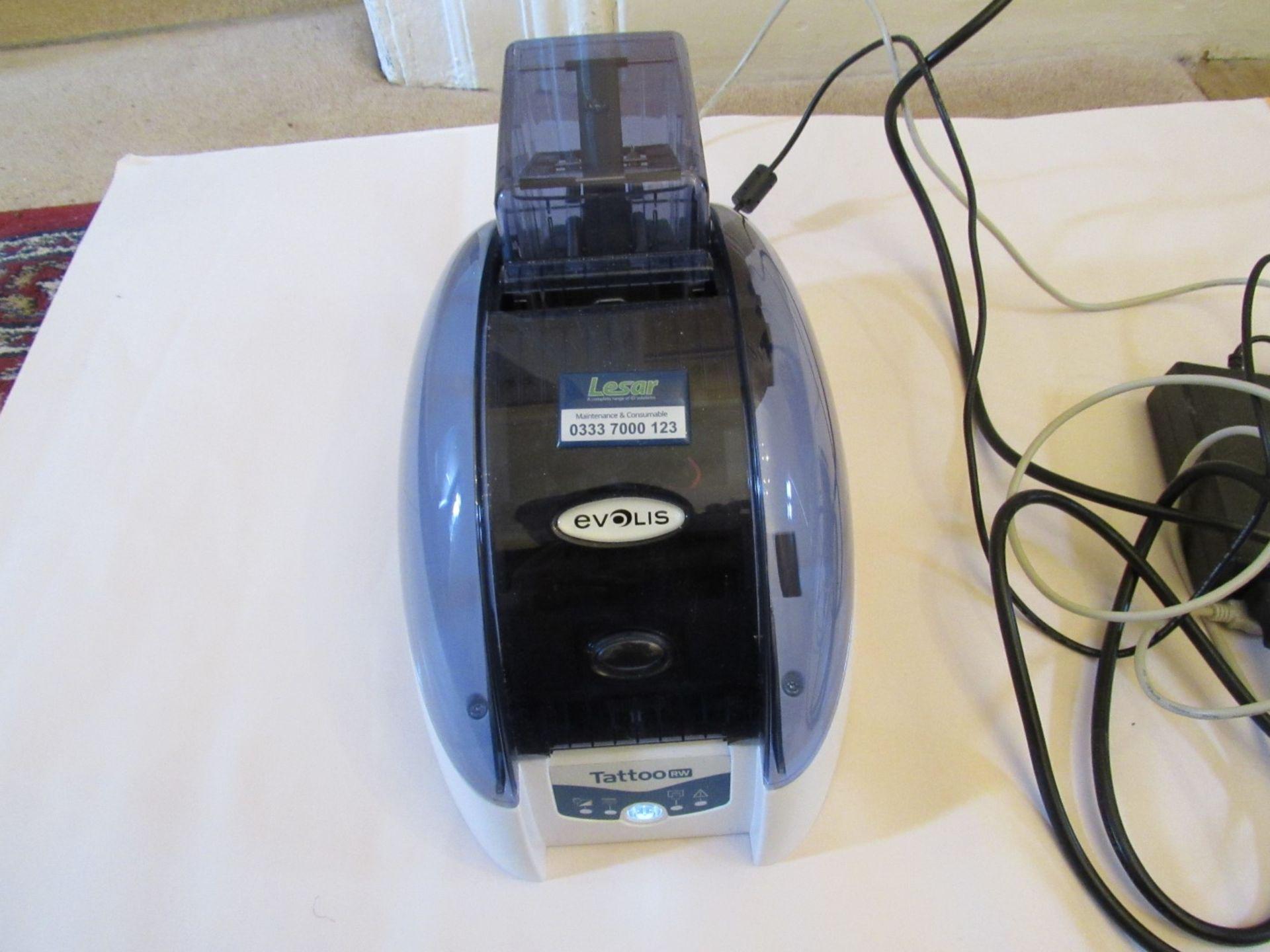 Evolis TTRW_V2 rewriteable ID Card printer (Locati - Image 5 of 8