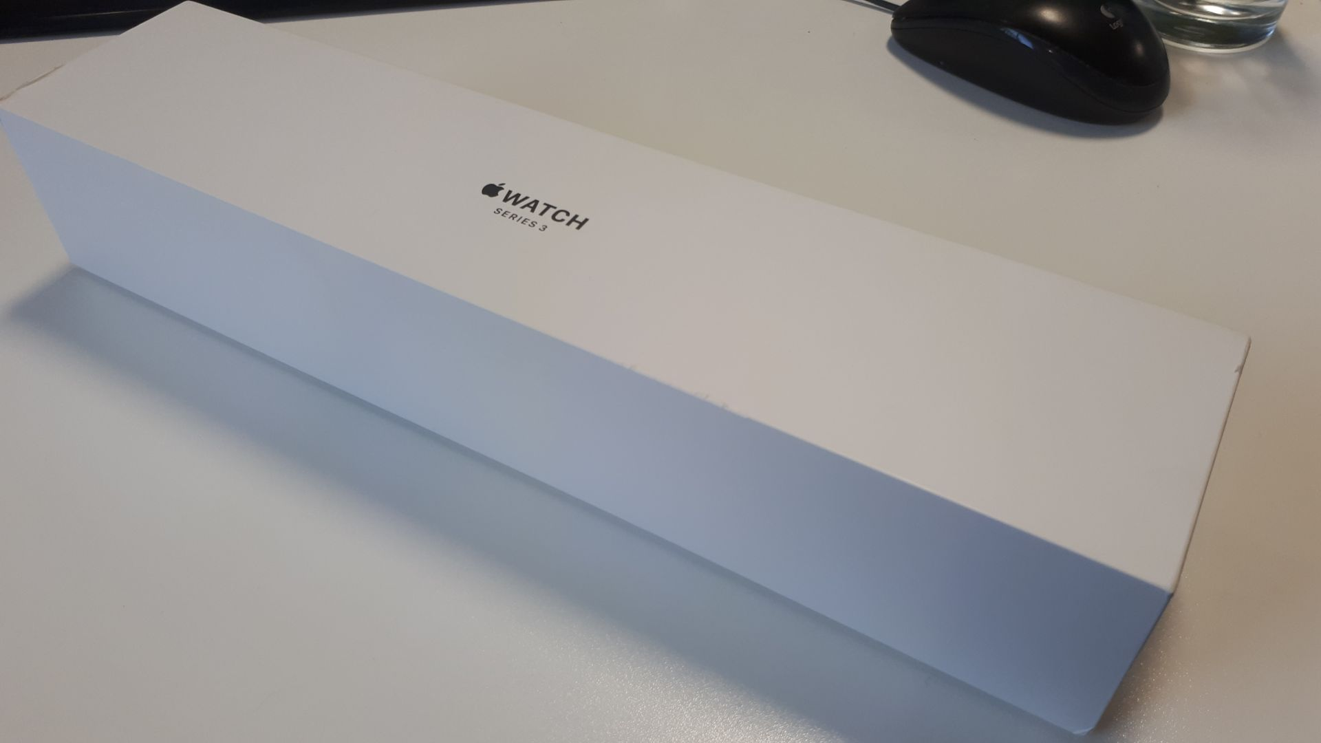 Unused, Boxed Apple Series 3 42mm Silver Aluminium - Image 2 of 4