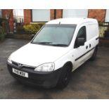 Vauxhall Combo 1.2CDTI Van, Registration FH11 MDV,