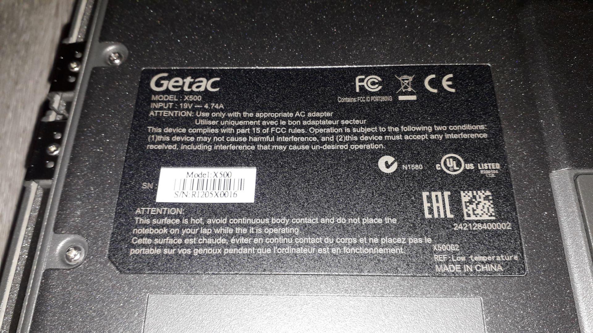 Getac X500 G2 Core i7 8GB, 256GB HDD Ultra Rugged - Image 5 of 9