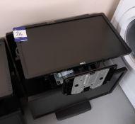 6 x Assorted Dell monitors