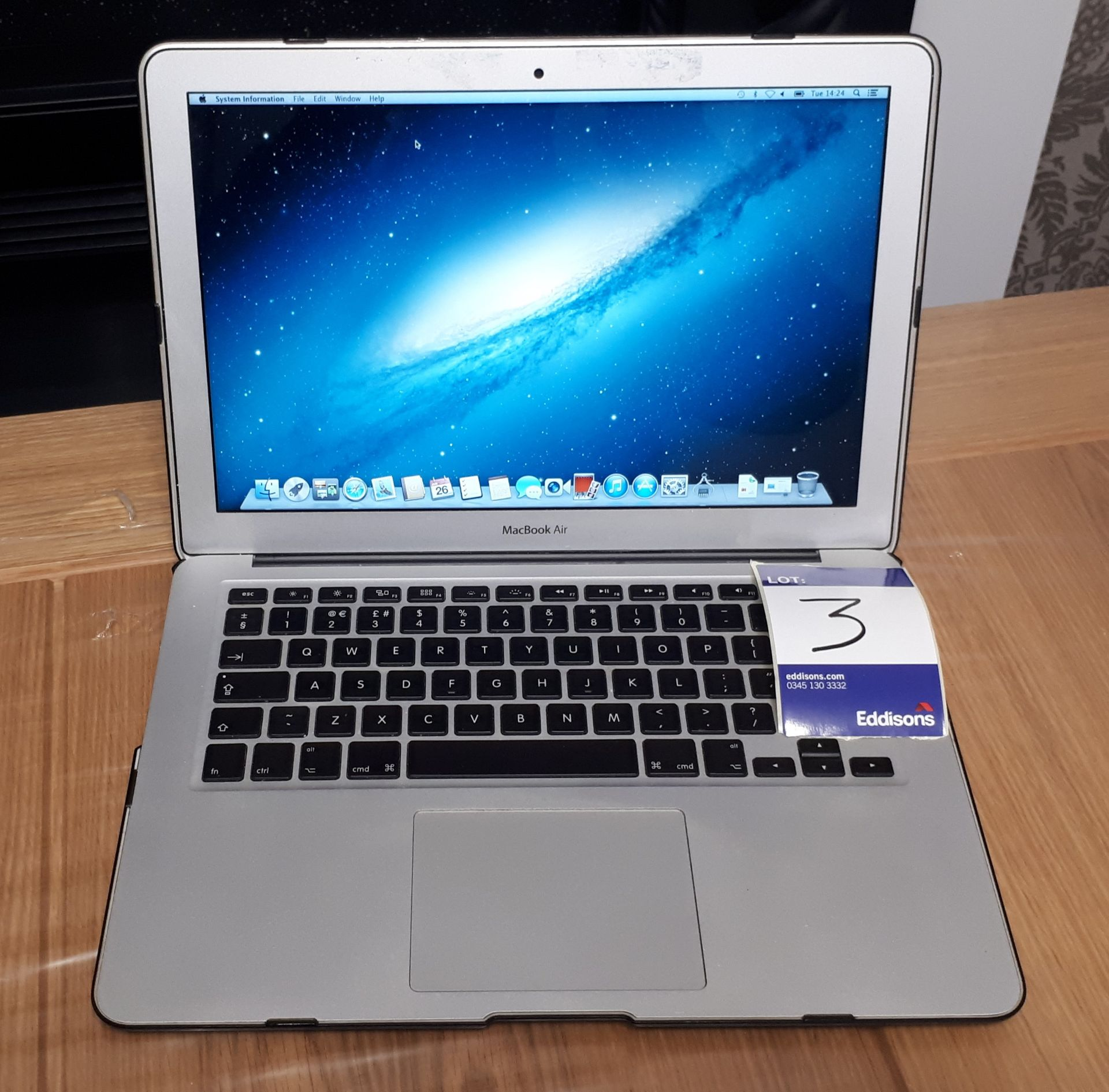 """Apple MacBook Air 13"""" (2013), A1466, 1.3 GHz Intel - Image 2 of 8"""