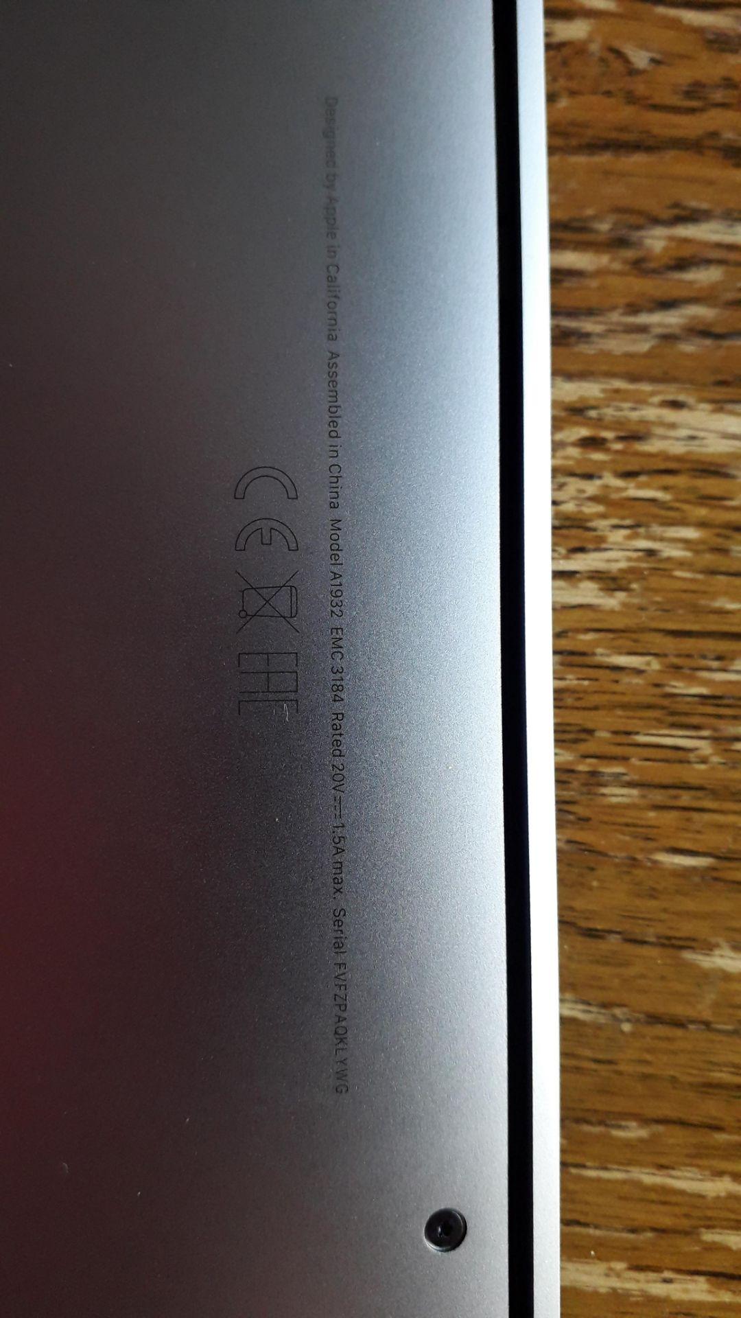 "Apple MacBook Air, 13"" Retina True Tone (2019), 1. - Image 5 of 7"
