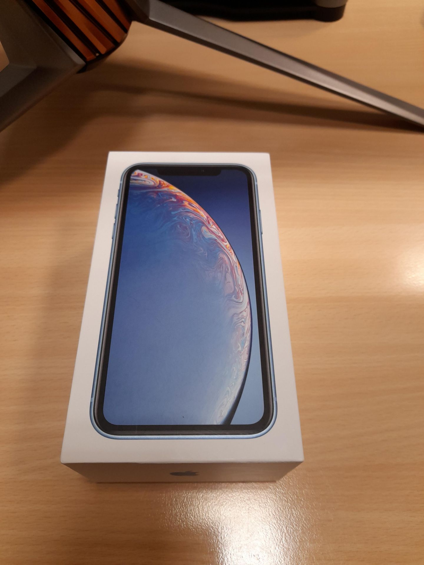 Apple iPhone, Model XR, Blue, 128GB, No Charger