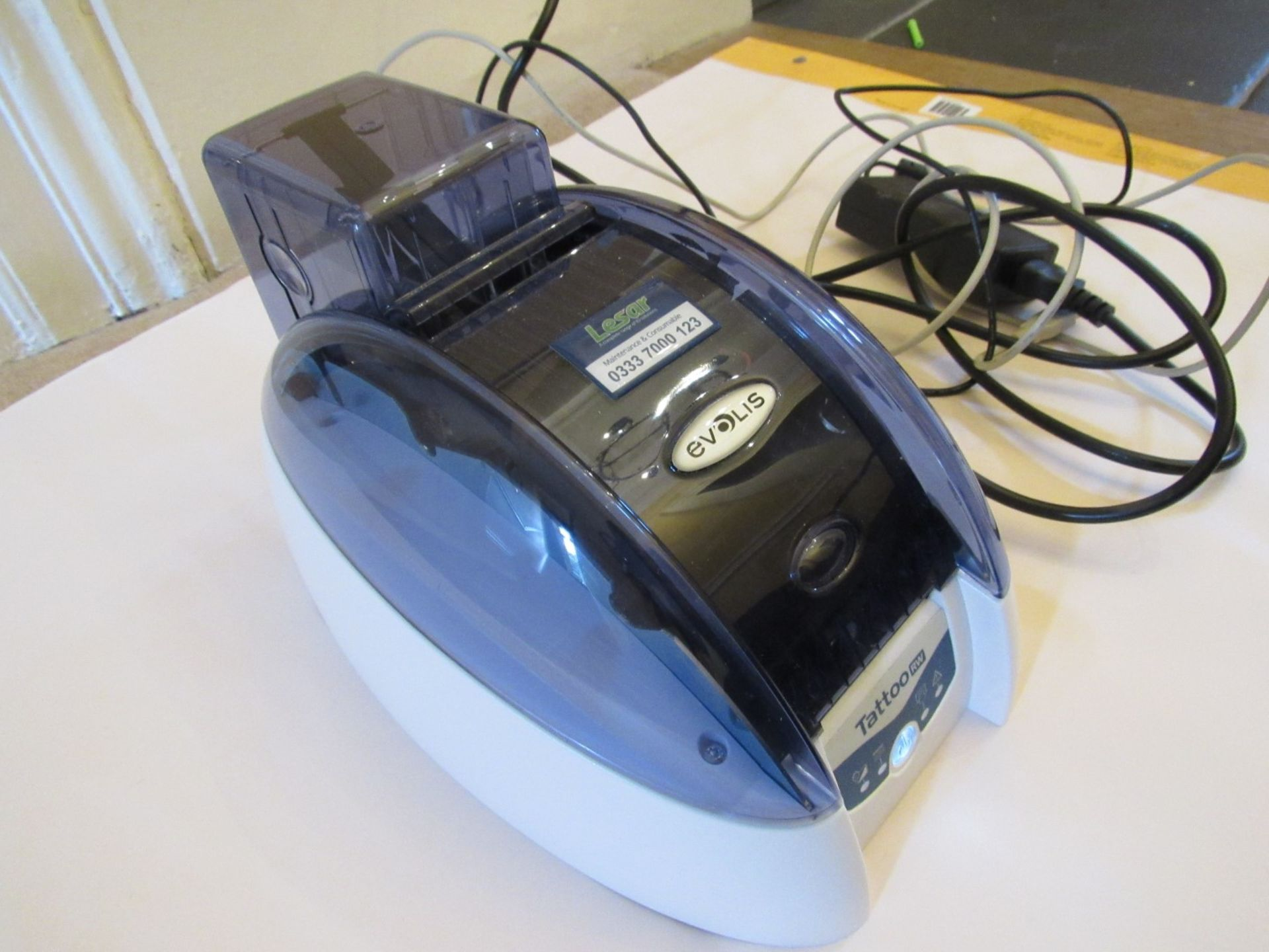 Evolis TTRW_V2 rewriteable ID Card printer (Locati - Image 6 of 8