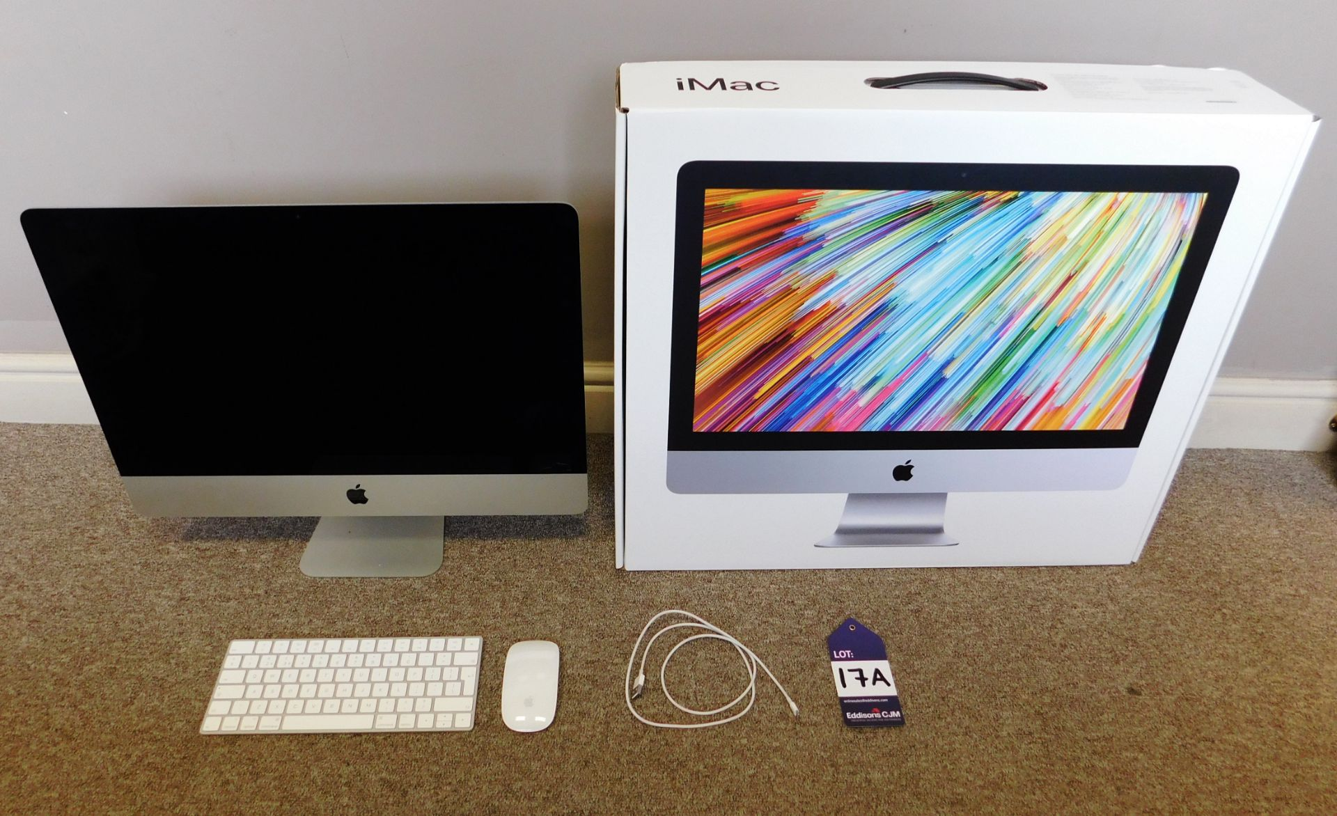 Apple 21.5 inch iMac, 2017, with Retina 4K Display,