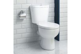 New Quartz Close Coupled Toilet.. We Love This Because It Is Simply Great Value! Made From White