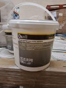 PALLET OF 48 x 3.5kg TUBS OF READY MIX MULTI PURPOSE WALL PAPER ADHESIVE