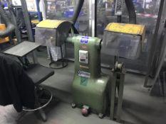 Morrisflex Twin Wheel Polishing Machine