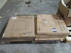 6 x Mixed Pallet of AOTO Panels 3X 32W 4000K 595x595 & 4 40W 4000K 600x600 4000K OEM Trade Price £