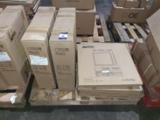 17 x LED Panel 595x595 HIGH OUTPUT 6800 LUMENS! 76W 1700mA Input 42V DC OEM Trade Price £ 1710