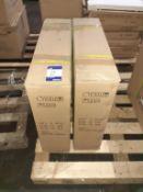 10 x LED Panel 595x595 HIGH OUTPUT 6800 LUMENS! 76W 1700mA Input 42V DC OEM Trade Price £ 1710