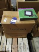 20 x Lumineux 50W LED Slimline Floodlight 4000K OEM Trade Price £ 720