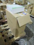10 x Lumineux LED 16W Bulkhead 6000K 1400lm 100-240V