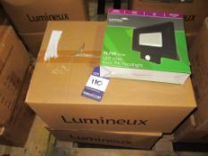 20 x Lumineux LED 70W PIR Floodlight 4000K 220-240V OEM Trade Price £ 1840