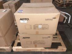 10 x LED Panel 595x595 32W 4000K OEM Trade Price £ 285