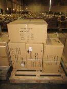 16 x Lumineux Low Glare Panel 40W 600x600x8mm White 4000K OEM Trade Price £480