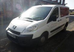 Peugeot Expert 1000 1.6 Hdi 90 Van, diesel, white,
