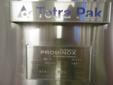 2001 Prominox Type TSCA 10,300L Insulated Stainless Steel Tank (DT1)