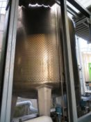 Silo 7 Moeschle 59,500 Litre Stainless Steel Tank with Load Cells, Valves, ladder and Gantry