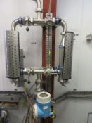 Twin Stainless Steel Filter Unit with Endress and Hauser Flow meter