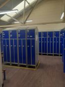 Approximately 80 Various Personal Lockers