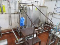 CIP Valve Matrix with Ecolab S310 & S5000 Chemical Dosing Units