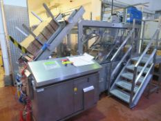 2003 CSI Case Packer & Erector with Gluing System