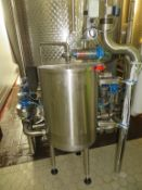 Stainless Steel c550mm Dia Balance Tank with 13 Valves and Fristam Pump