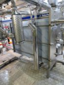 Pasteurisation Set inc 2018 Alfa Laval for Tetra Pak CW8-RSR Pasteuriser 3.3m Frame, 1.7m of Plate,