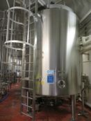 2001 Prominox Type TSCA 10,300L Insulated Stainless Steel Tank (DT2)
