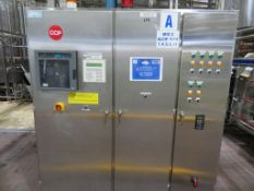 Stainless Steel Control Cabinet (Alfa 9) 1.83 x 0.53 x 2.2m High