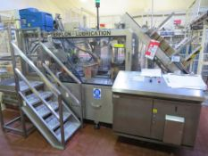 2003 CSI Case Erector with Nordson Problue 10 Gluing System