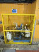 Storage Cage and 2x PPE Storage Cages