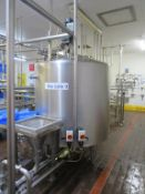 Mix Tank 9- Stainless Steel Juice Mixing Tank with Stirrer