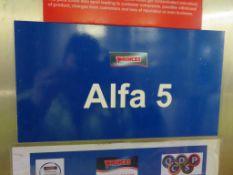 Tetrapak Pasteuriser Plant (Alfa 5) Inc. Pasteuriser, Heat Exchanger etc