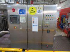 Alfa Laval Pasteuriser, Small Tank, 2 x Pumps, Birkert Flowmeter, Valves Filters & Control Panel (B)