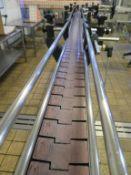 c12.5m of Narrow Slat Bend Conveyor