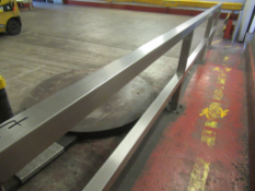 6 x Sections of s/s Barriers