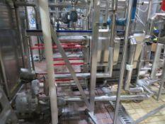Pasteurisation Plant Inc. Tetra Pak Pasteuriser, Heat Exchanger, Balance Tank, Pumps & Valves