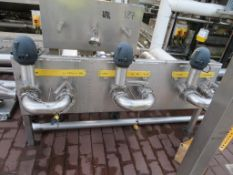 Transfer System Inc. 3x Pumps, Valves and Pipework