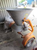 Gamberini CL300 Salt Spreader Comes with Pallet of Salt