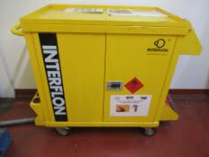 Interflon Mobile Chemical Trolley