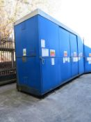 Four Sliding Door Bunded Steel Storage Cabinet