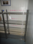 4 x Bays of Wired Shelving and 2 x Bays of Boltless Shelving