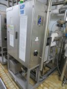 Tetra Alcip 100 Frame Mounted CIP Plant (Alcip Two) (1.2 x 2m x 2.25m High) with small Tank & Heat E