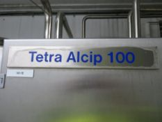 Tetra Alcip 100 CIP Plant (Alcip One) with 2 x Prominox Tanks (2000 Litre & 1000 Litre), Valves and